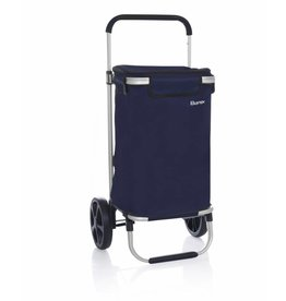 Bamex Bamex Chicago Boodschappentrolley donkerblauw