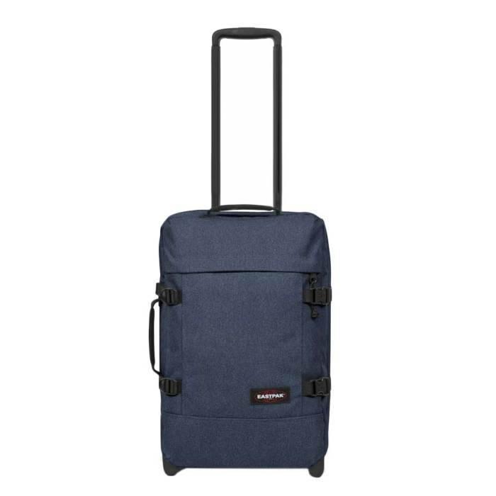 Eastpak Eastpak Tranverz S Double Denim Handbagage reistas met wieltjes