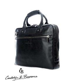 """Castelijn en Beerens Castelijn & Beerens Firenze Business Laptopbag 15.6"""" zwart"""