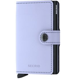 Secrid Secrid Mini Wallet Matte Lila Black pasjeshouder