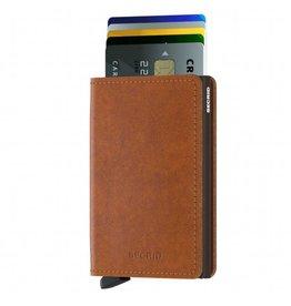 Secrid Secrid Slim Wallet Original Cognac Brown pasjeshouder