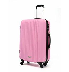 Line Line handbagagekoffer - Leyton Spinner - 55 cm - Soft Pink