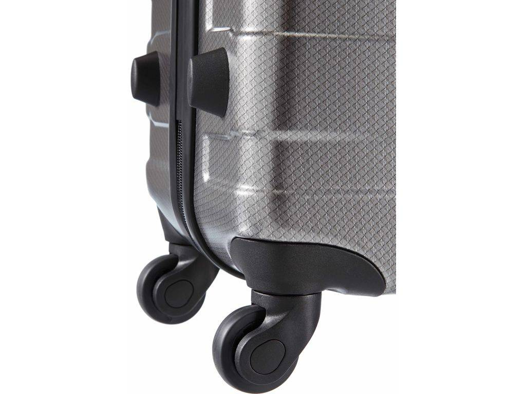 American Tourister American Tourister Pasadena - handbagagekoffer - 55 cm - Check Black Silver