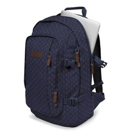 Eastpak Eastpak Evanz Denim Checks  grote laptoprugzak 15.6 inch