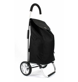 Line Line - Boodschappenwagen - shoppingtrolley - opvouwbaar - Zwart