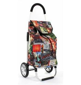 Line Line - Boodschappenwagen - shoppingtrolley - opvouwbaar - New York