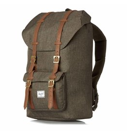 Herschel Herschel Little America rugzak Canteen Crosshatch/Tan Synthetic Leather