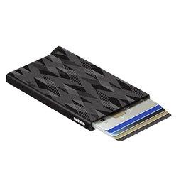 Secrid Secrid Cardprotector Laser Zigzag Black pasjeshouder