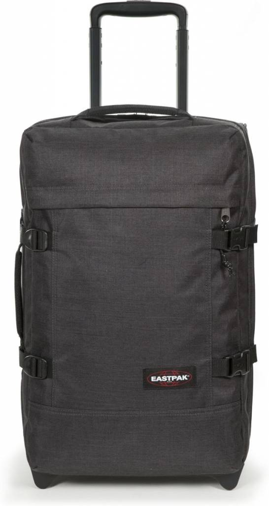 Eastpak Eastpak Tranverz S Loud Black Handbagage reistas met wieltjes
