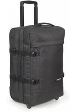 71282e41ebb Eastpak Eastpak Tranverz S Loud Black Handbagage reistas met wieltjes