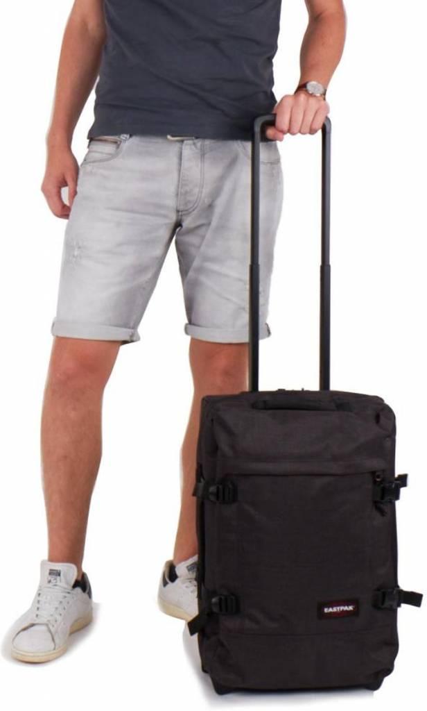 592a5f1515d ... Eastpak Eastpak Tranverz S Loud Black Handbagage reistas met wieltjes
