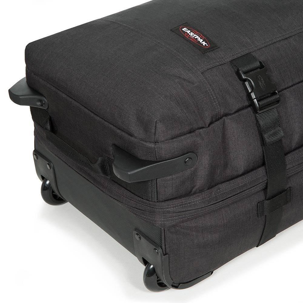 Eastpak Eastpak Tranverz L Loud Black reistas met wieltjes 121 liter reistrolley lichtgewicht