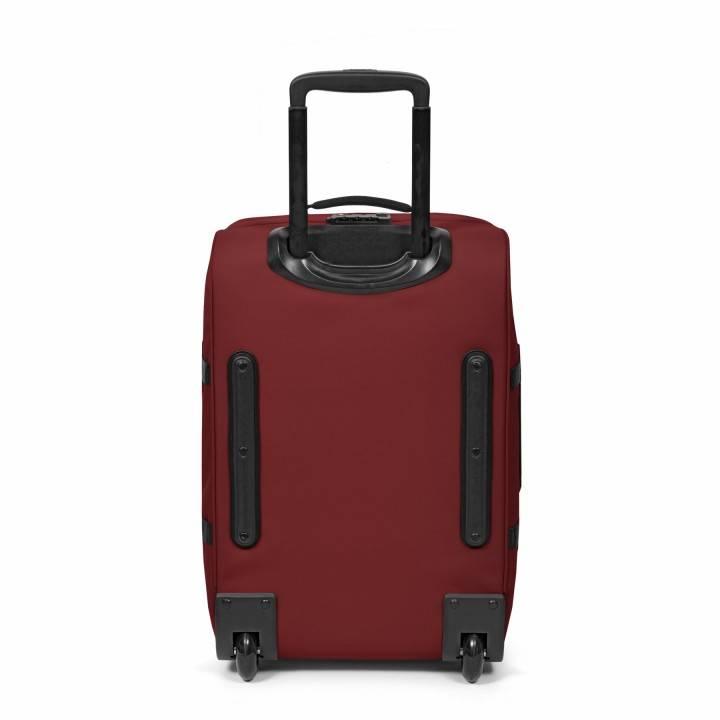 Eastpak Eastpak Tranverz S Brave Burgundy Handbagage reistas met wieltjes