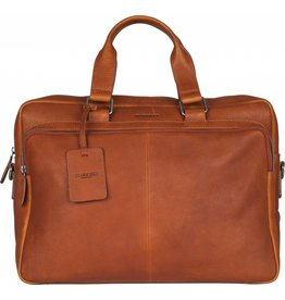 "Burkely Burkely Antique Avery Workbag 15.6"" cognac"