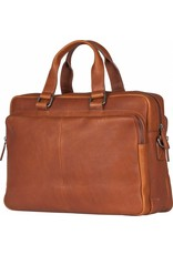 """Burkely Burkely Antique Avery Workbag 15.6"""" cognac"""