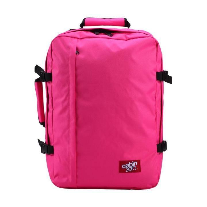 Cabinzero Cabinzero Classic handbagage Hot Pink ultralichte cabin rugzak