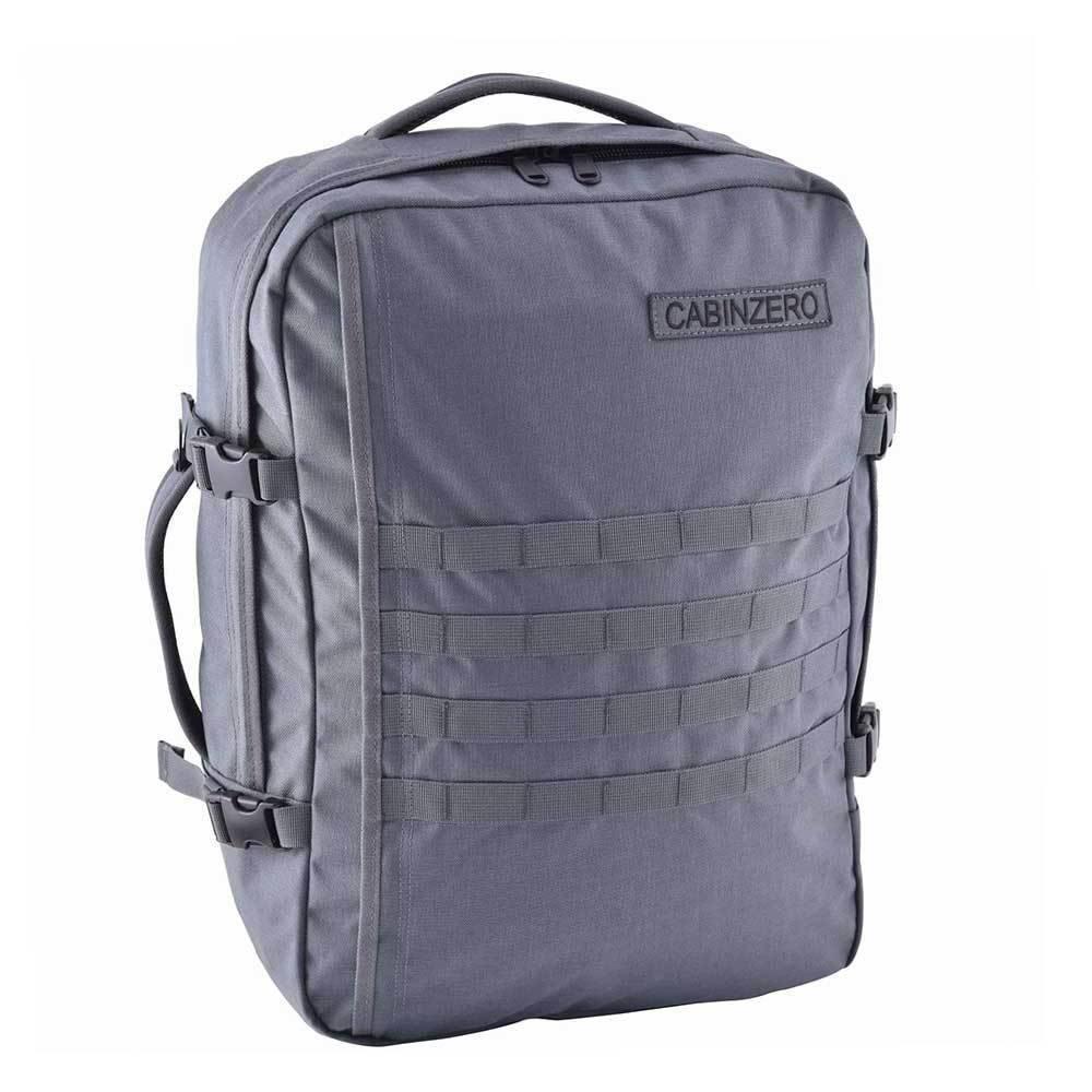 Cabinzero Cabinzero Military 44L handbagage Grey ultralichte cabin rugzak