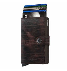 Secrid Secrid Mini Wallet Dutch Martin Cacao-Brown pasjeshouder