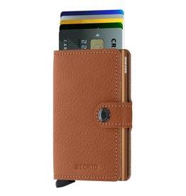 Secrid Secrid Mini Wallet Veg Caramello pasjeshouder