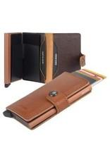 Secrid Secrid Mini Wallet Veg Caramello uitschuifbare pasjeshouder