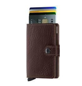 Secrid Secrid Mini Wallet Veg Espresso pasjeshouder