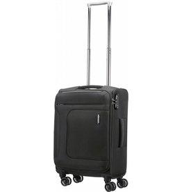 Samsonite Samsonite Asphere Spinner handbagage koffer 55 cm Black / Grey