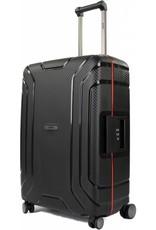 Line Line Hoxton -  reiskoffer - 65 cm - Black/Red