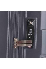 Line Line Speaks - Handbagage Reiskoffer - 55cm - Dark Grey