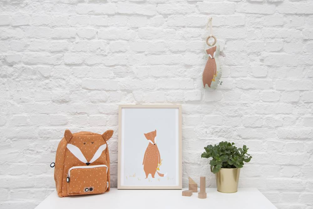 Trixie  Trixie kinderrugzak - Mr Fox - vos rugtasje