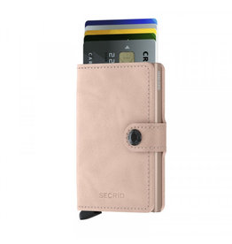 Secrid Secrid Mini Wallet Vintage Rose pasjeshouder