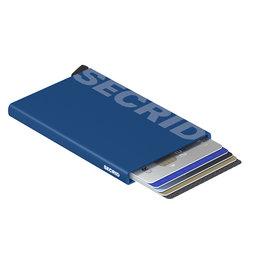 Secrid Secrid Cardprotector Laser Logo Blue pasjeshouder