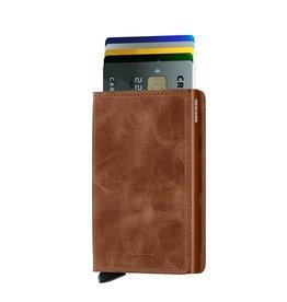 Secrid Secrid Slim Wallet Vintage Cognac Rust pasjeshouder