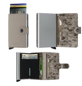 Secrid Secrid Mini Wallet Crisple Taupe Camo pasjeshouder