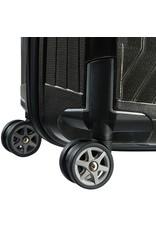 Samsonite Samsonite Lite-Box Spinner 69 Zwart - lichtgewicht middenmaat reiskoffer