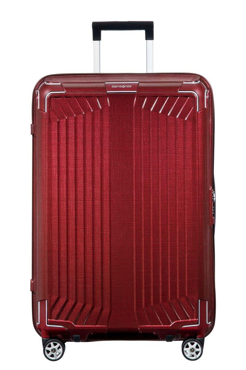 Samsonite Samsonite Lite-Box Spinner 69 Deep Red - lichtgewicht middenmaat reiskoffer