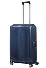 Samsonite Samsonite Lite-Box Spinner 69 Deep Blue - lichtgewicht middenmaat reiskoffer