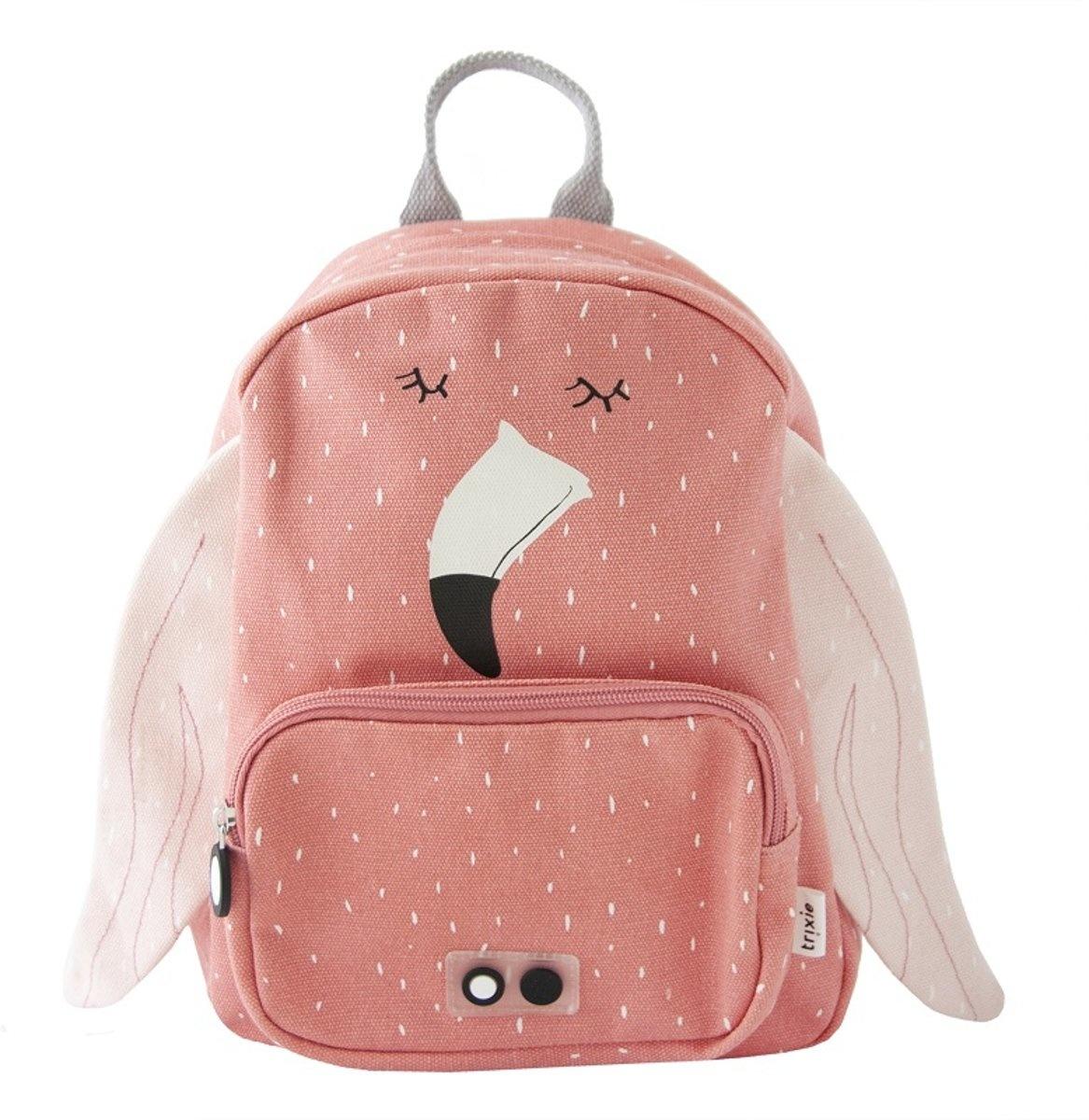 Trixie  Trixie kinderrugzak - Mrs Flamingo rugtasje