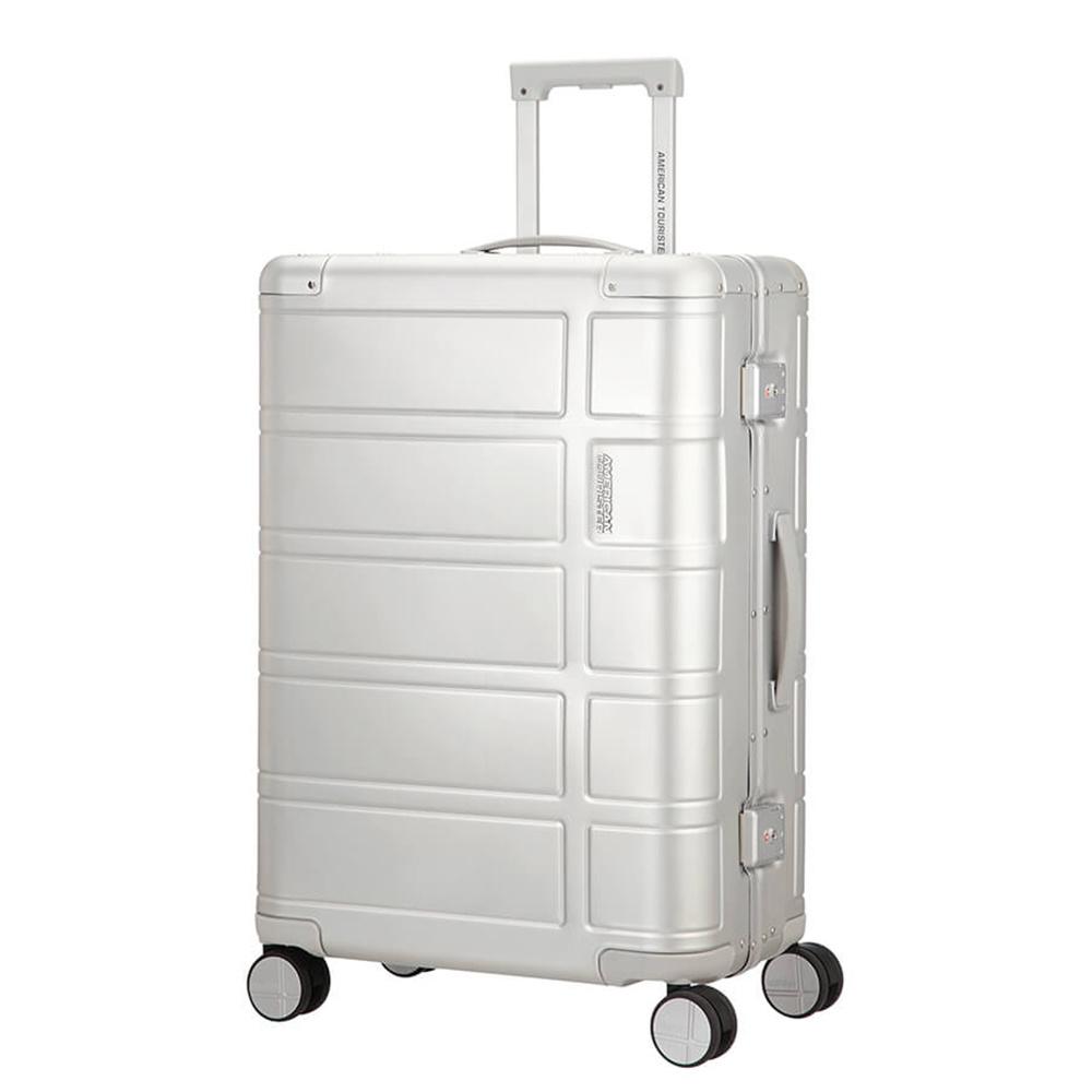 American Tourister American Tourister Alumo  Spinner 67 Silver Aluminium Reiskoffer made by Samsonite