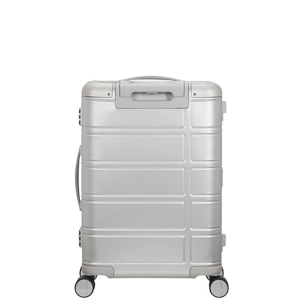 American Tourister American Tourister Alumo  Spinner 55 Silver Aluminium handbagage Reiskoffer made by Samsonite