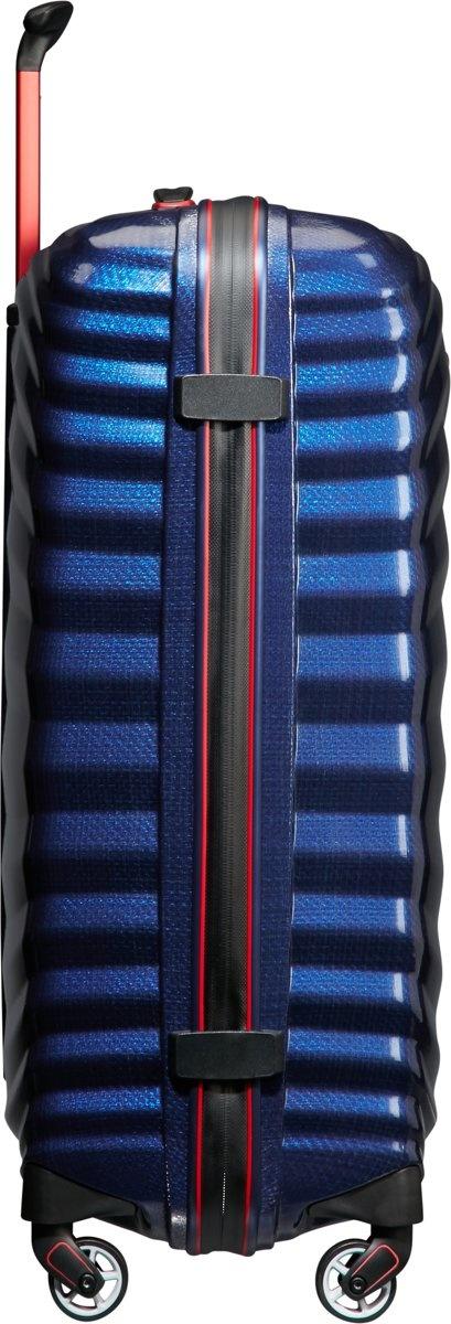 Samsonite Samsonite Lite-Shock Sport Spinner 69  Nautical Blue/Red Curv reiskoffer