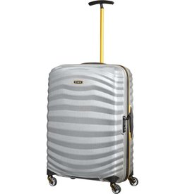Samsonite Samsonite Lite-Shock Sport Spinner 69  Silver / Yellow Curv reiskoffer