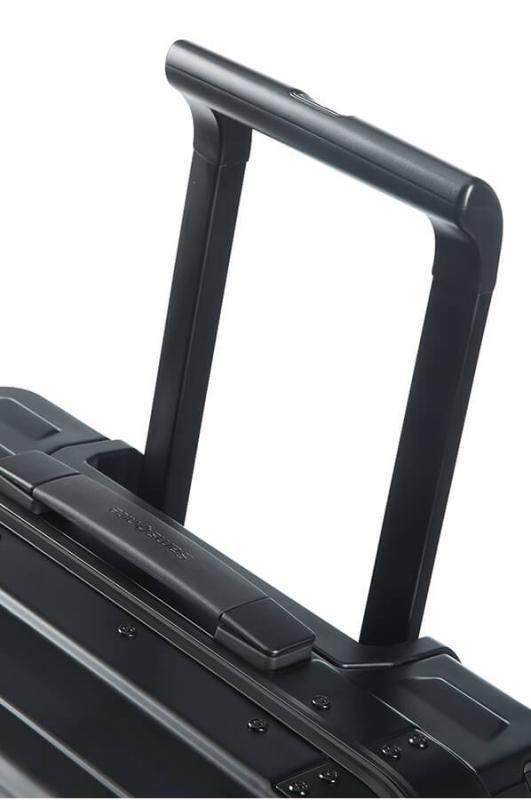 Samsonite Samsonite Lite-Box Alu Spinner 55 Aluminium handbagage Reiskoffer - zwart