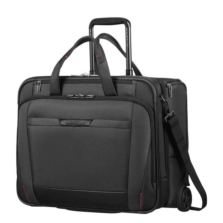 Samsonite Samsonite luxe laptoptrolley business pro dlx 5 laptoptas met wielen 17.4 inch