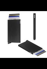 Secrid Secrid Cardprotector  Brushed Black uitschuifbare pasjes bescherming pasjeshouder