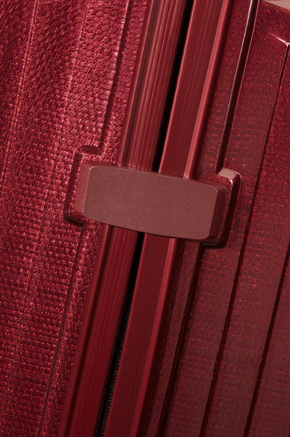 Samsonite Samsonite Lite-Box Spinner 75 Deep Red - lichtgewicht grote reiskoffer