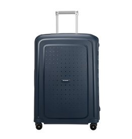 Samsonite Samsonite S'Cure Spinner 75cm Navy Blue Stripes