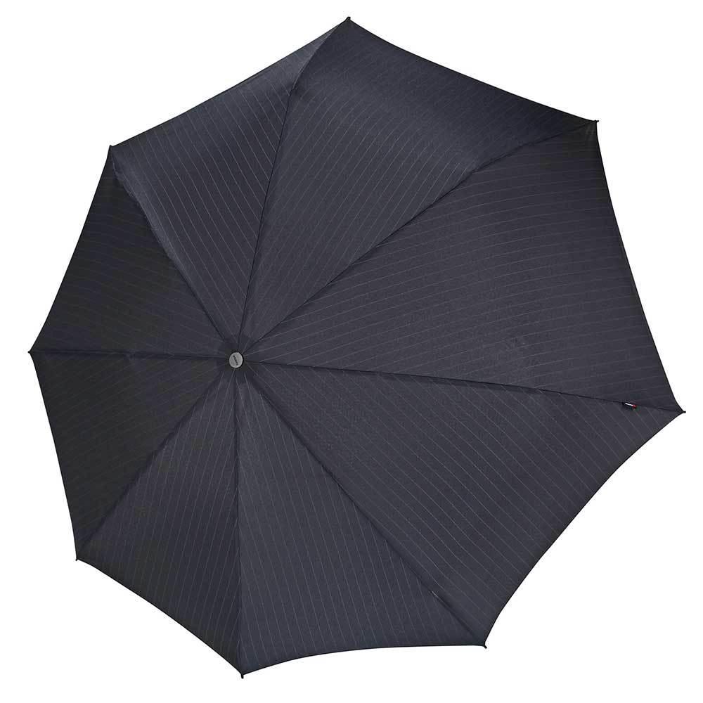 Knirps Knirps 4allWeather Duomatic Stormparaplu Pinstripe black C400