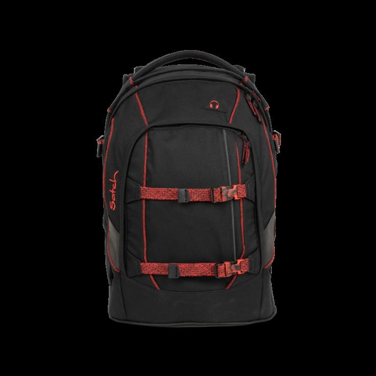 Satch Satch Pack School Rugzak - 30 liter backpack - Black Volcano