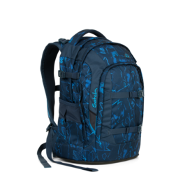 Satch Satch Pack School Rugzak - Blue Compass