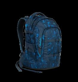 Satch Satch Pack School Rugzak - Blue Compass
